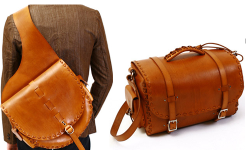 Kenton Sorenson Leather Bags for the Pavement Cowboy - The Momentum