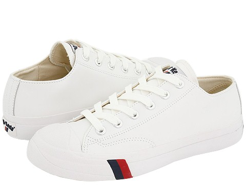white pro keds