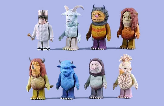 where the wild things are figures by kubrick the momentum
