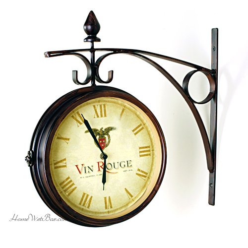 clock-wall-vinrouge