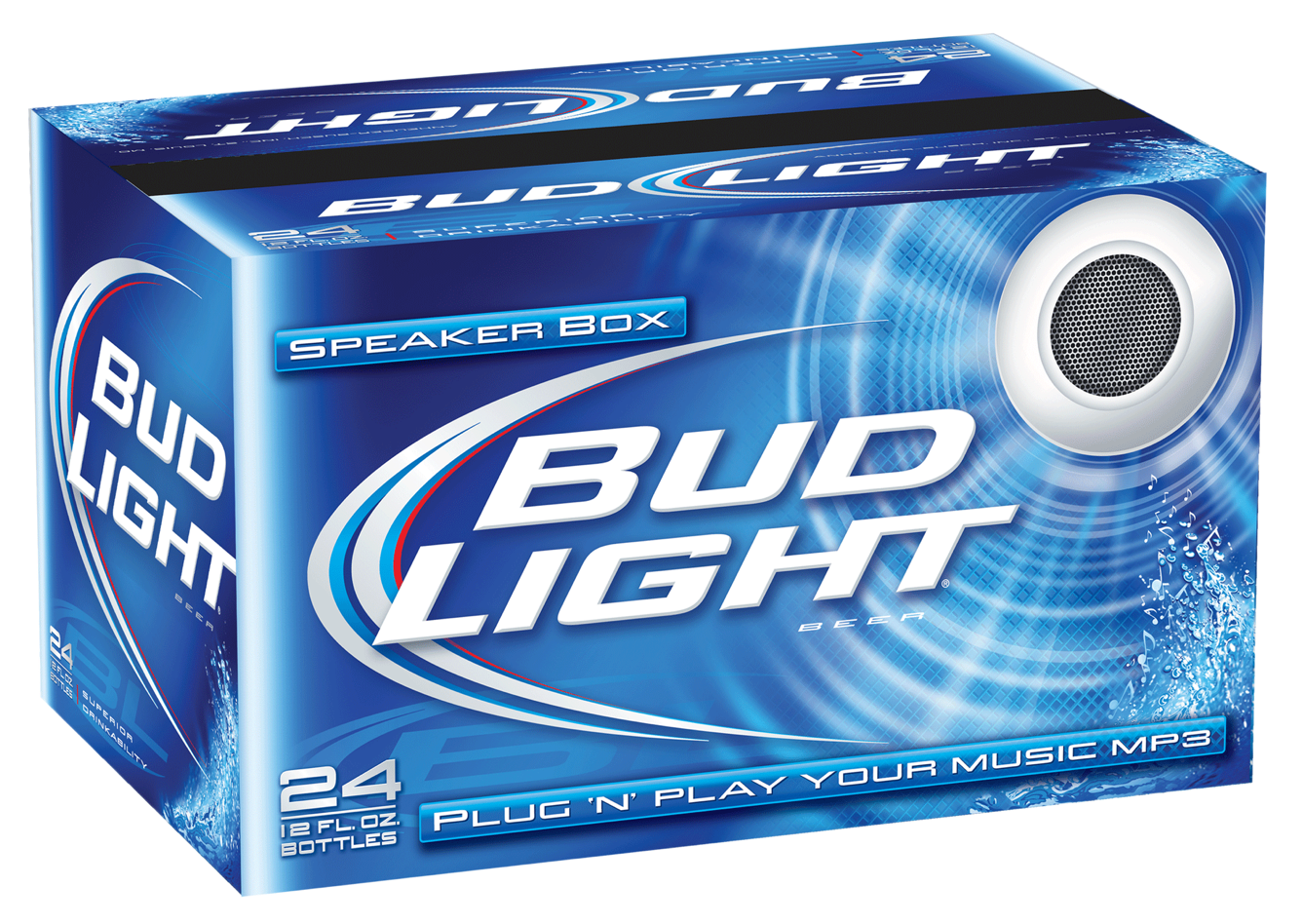 HOT OFF THE WIRE: The Bud Light Speaker Box - The Momentum