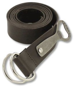 Bates Beer bottle opener belt