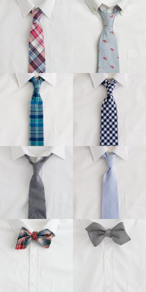 J Crew Spring ties