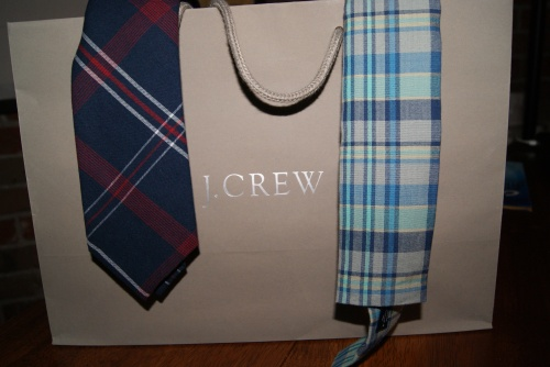 J Crew Ties on sale