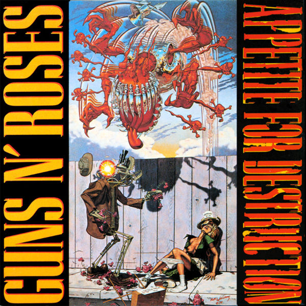 "¡Feliz 25... ""Appetite For Destruction""! | Sad-Bastard-Music"