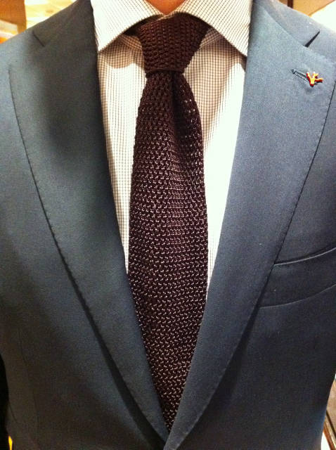 Isaia Tie Tie And Pin All Isaia Can